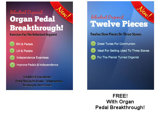 Organ Pedal Breakthrough Plus Twelve Pieces